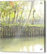 Bridge In Kerela Acrylic Print