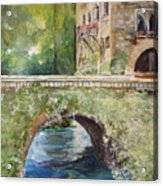 Bridge In Spain Acrylic Print