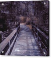 Bridge In The Shenandoah Acrylic Print