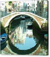 Bridge In Venice Acrylic Print