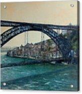 Bridge Luis I -Porto Acrylic Print