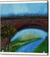 Bridge March Acrylic Print