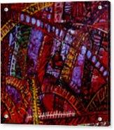 Bridge Music Construction Acrylic Print