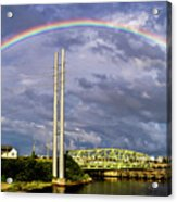 Bridge Of Hope Acrylic Print