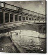 Bridge Of L'archeveche Acrylic Print