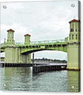 Bridge Of Lions From The Water Acrylic Print