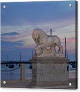 Bridge Of Lions Acrylic Print