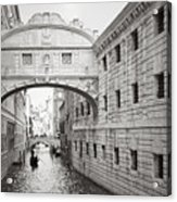 Bridge Of Sighs 5346-2 Acrylic Print