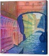 Bridge Of Sighs Venice Acrylic Print