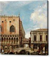 Bridge Of Sighs, Venice Acrylic Print