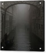 Bridge Of Sighs, Venice, Italy Acrylic Print