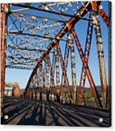 Bridge Of Treto, Colindres Acrylic Print