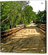 Bridge On Mill Rd.  Acrylic Print