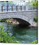 Bridge On The Niagara River Acrylic Print