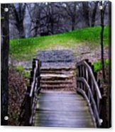 Bridge On The Trail Acrylic Print