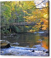 Bridge Over Big Cataloochoo Creek Acrylic Print