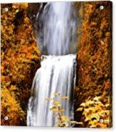 Bridge Over Cascading Waters Acrylic Print