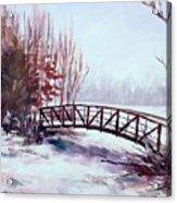 Snowy Span Acrylic Print