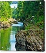 Bridge Over Quechee Gorge-vermont  Acrylic Print