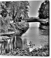 Bridge Over River Acrylic Print by Roberto Alamino
