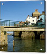Bridge Over Staithes Beck Acrylic Print