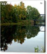 Bridge Over Still Waters Acrylic Print