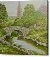 Bridge Over Stream Acrylic Print