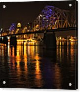 Bridge Over The Ohio Acrylic Print