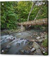 Bridge Over The Pike River Acrylic Print