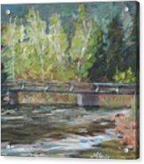 Bridge Over The Poudre Acrylic Print