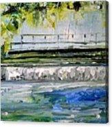 Bridge Over The Weir II Acrylic Print