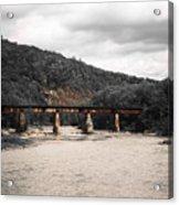Bridge Over The Winooski Acrylic Print