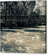 Bridge Over Water Acrylic Print