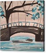 Bridge Over Water Acrylic Print