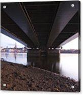 Bridge Over Wexford Harbour Acrylic Print