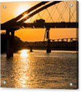 Bridge Sunrise 1 Acrylic Print