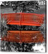 Bridge The Gap Acrylic Print