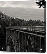 Bridge To Dawn Acrylic Print
