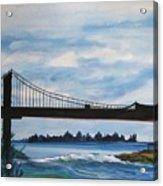 Bridge To Europe Acrylic Print