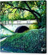 Bridge To New York Acrylic Print
