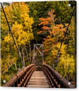 Bridge To Rainbow Falls Acrylic Print