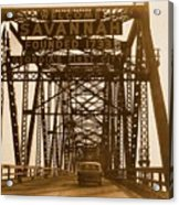 Bridge To Savannah Acrylic Print