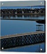 Bridge To Spinnaker Island Acrylic Print