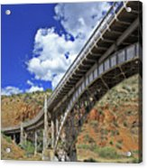 Bridge To Yesteryear Acrylic Print