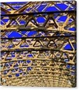 Bridge Work Acrylic Print