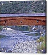 Bridgeport Covered Bridge Acrylic Print