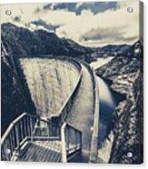 Bridges And Outback Dams Acrylic Print