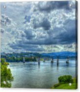 Bridges Of Chattanooga Tennessee Acrylic Print