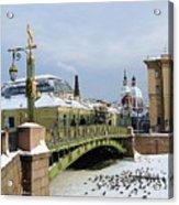 Bridges Of Petersburg Acrylic Print