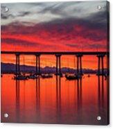Bridgescape Acrylic Print